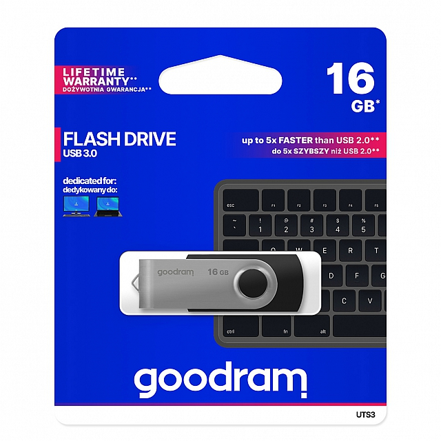 PENDRIVE USB 3.0 GOODRAM 16GB UCO2